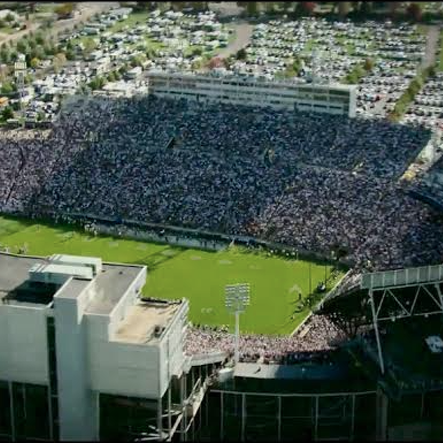 Penn State Football: HBO Show Appears to Show Beaver Stadium & Paterno Funeral Procession