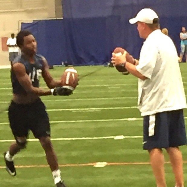 Football Camps Show Off Arms of Former QBs on Penn State Coaching Staff