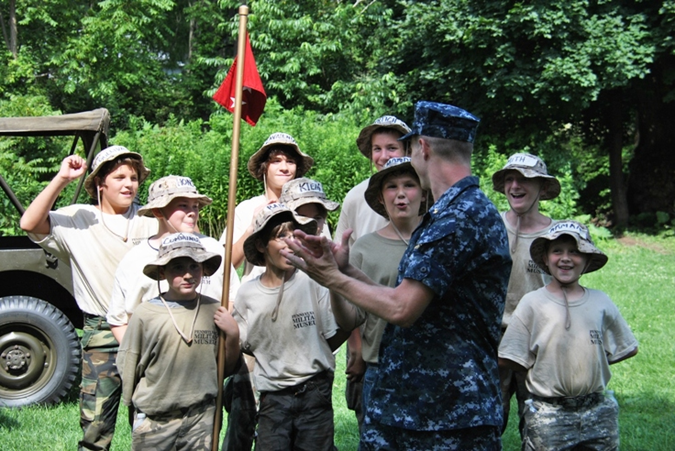 Local teens get first glimpse of boot camp | Article | The