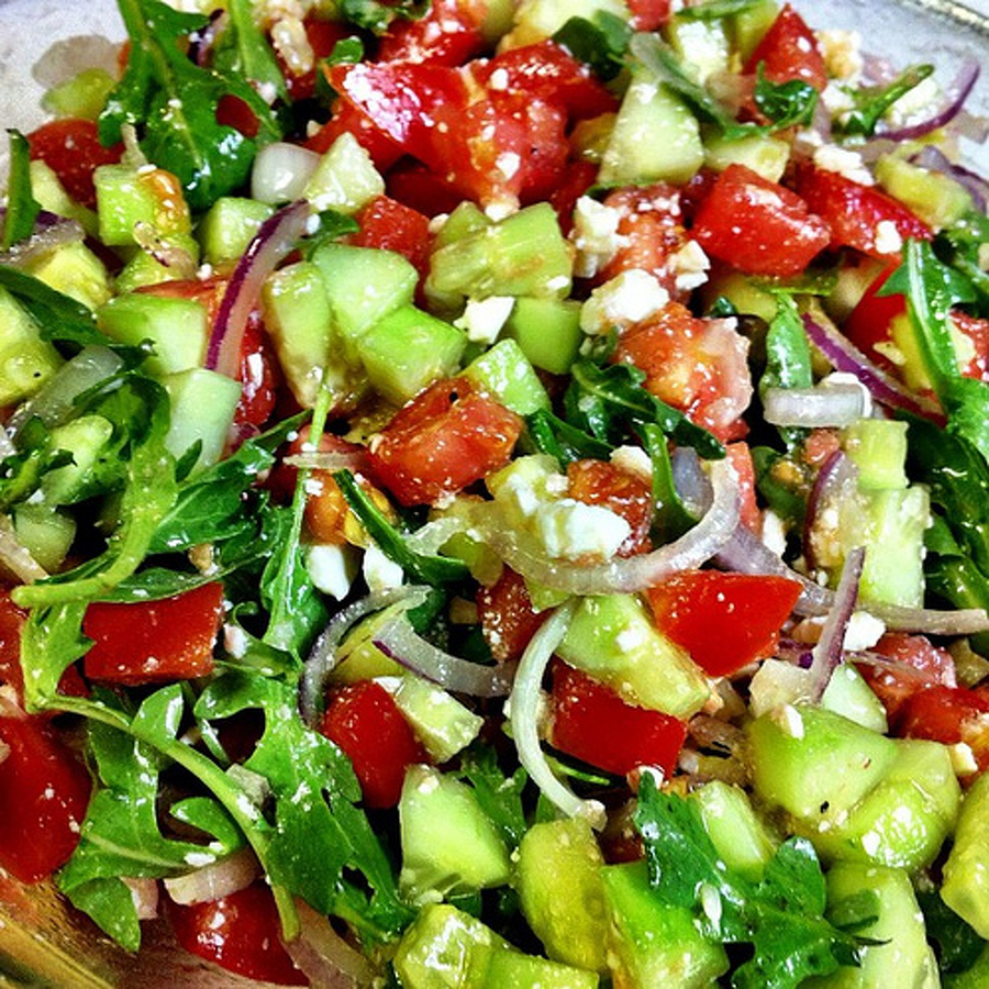 Blonde Cucina: Be a super chef with summer salads