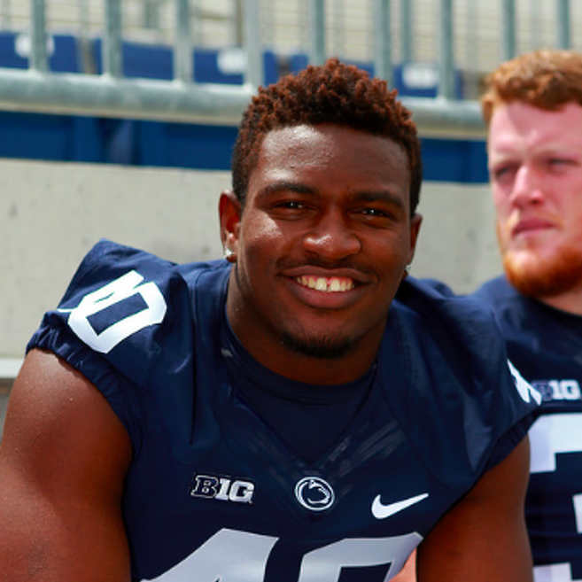 Penn State Football: Cabinda All Smiles As He Takes On Bigger Role This Season