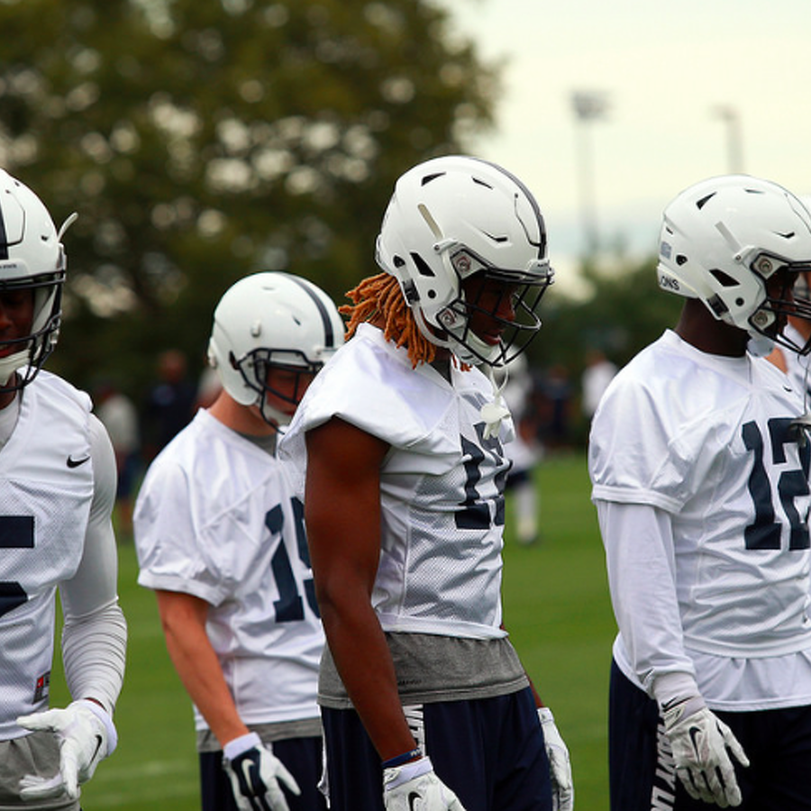 Penn State Football: Talent Clearly Not Issue At Receiver, Question Now Is Who Plays