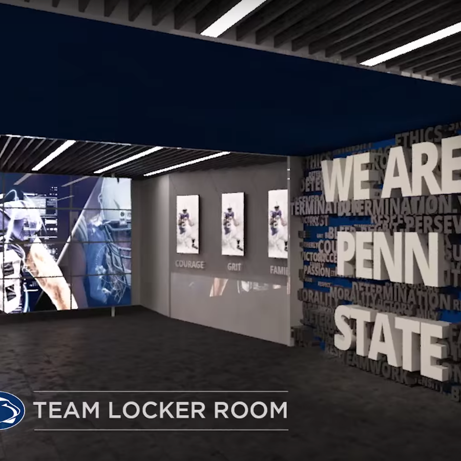Penn State Football: Latest Renderings Of Planned Lasch Building Improvements