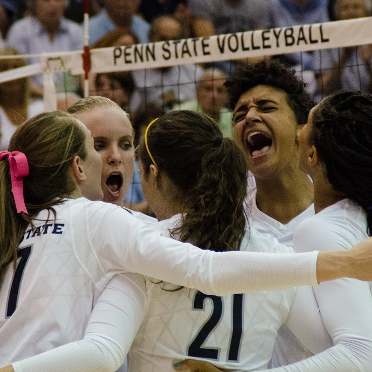 No. 1 Women's Volleyball Defeats Notre Dame To Win Golden Dome Invitational