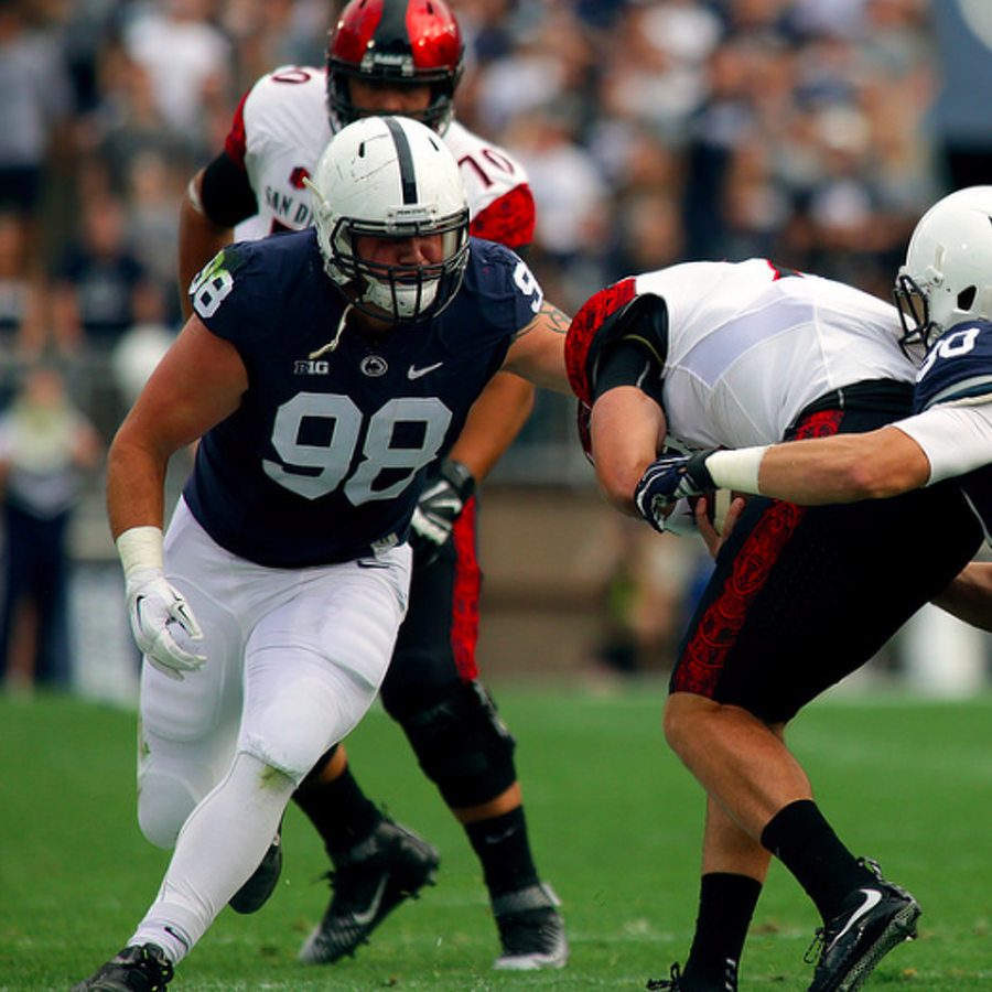 Penn State Football: Zettel Shines In Game Following Death Of Father