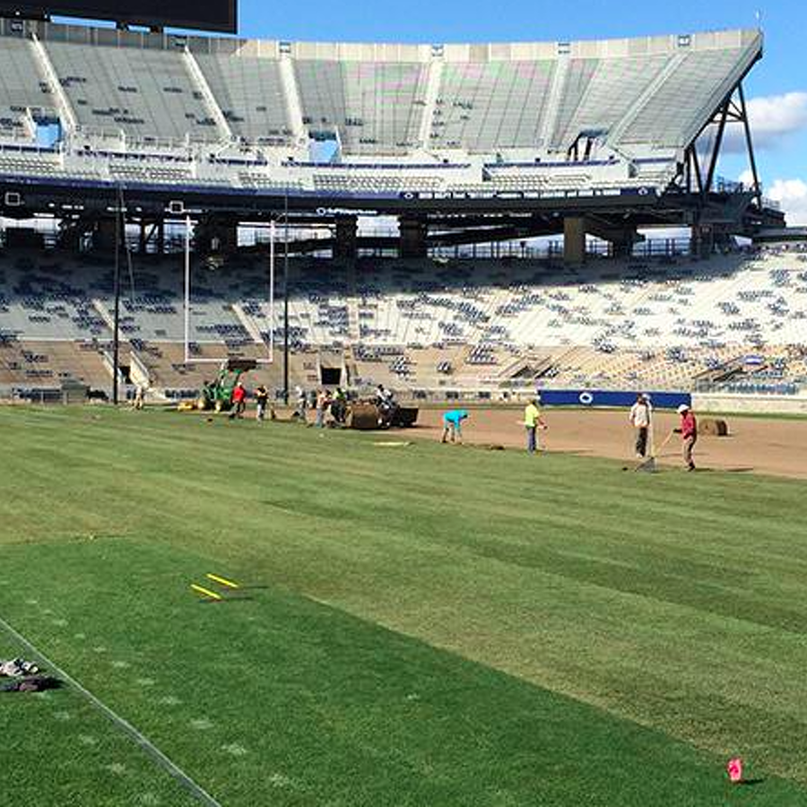 Penn State Football: Beaver Stadium Field Replaced While Nittany Lions Hit The Road