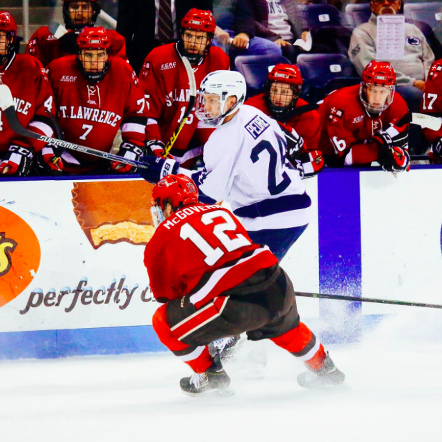 Penn State Hockey: Nittany Lions Tie No. 16 St. Lawrence 2-2 In Thriller