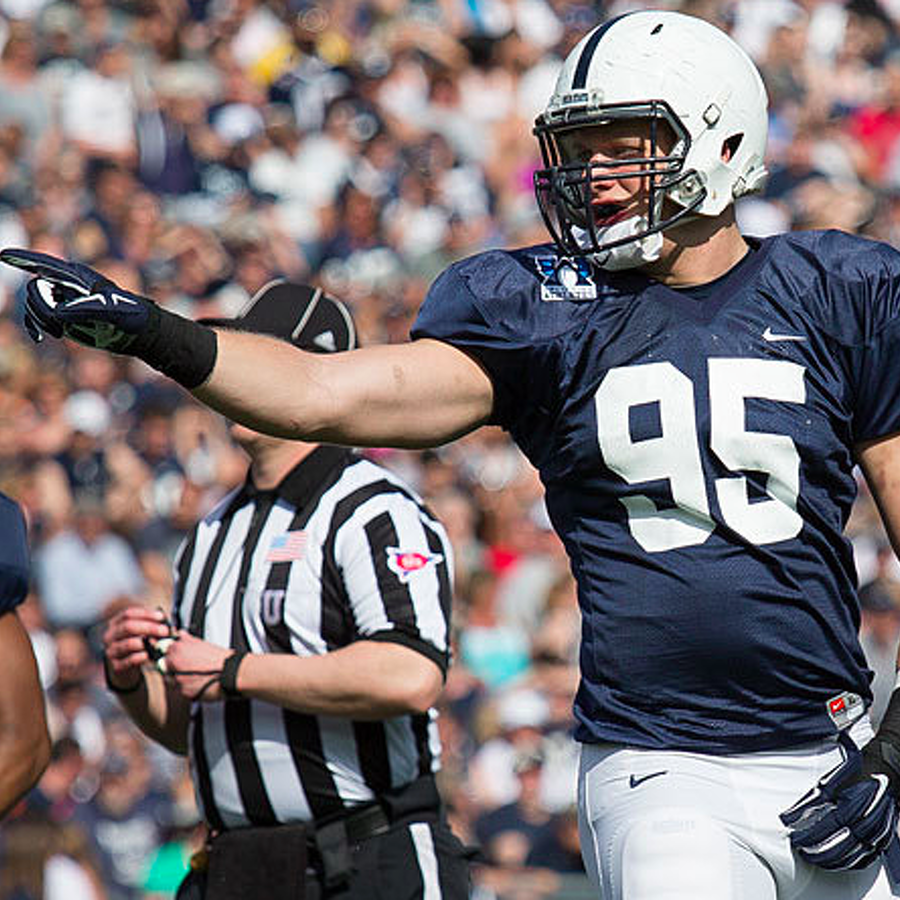 Penn State Football: Nassib Charges at History in His Own Way