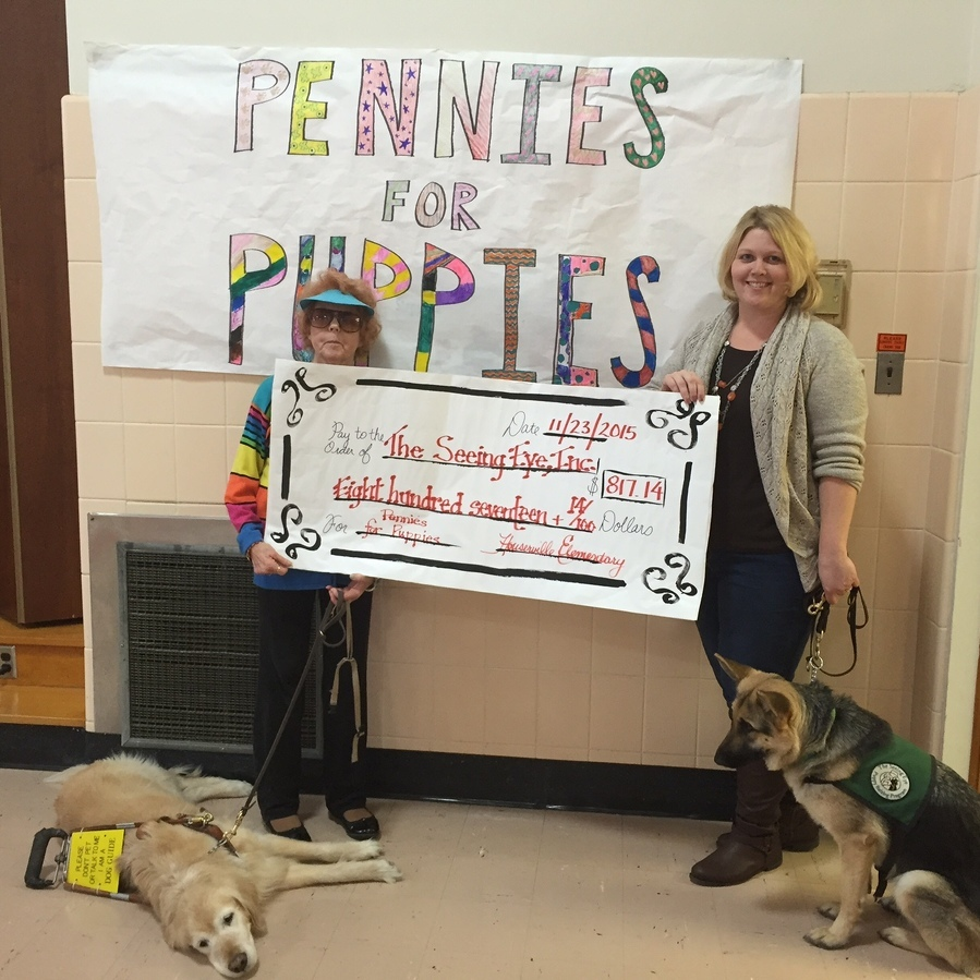 Houserville Elementary 'Pennies for Puppies' a success