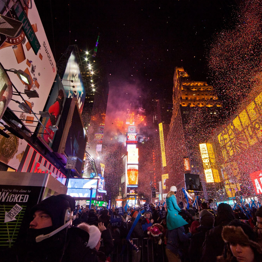Times Square on New Year's? Pass