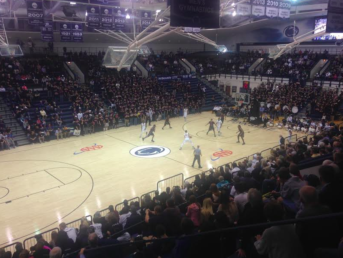 State College Pa Penn State Basketball Nittany Lions