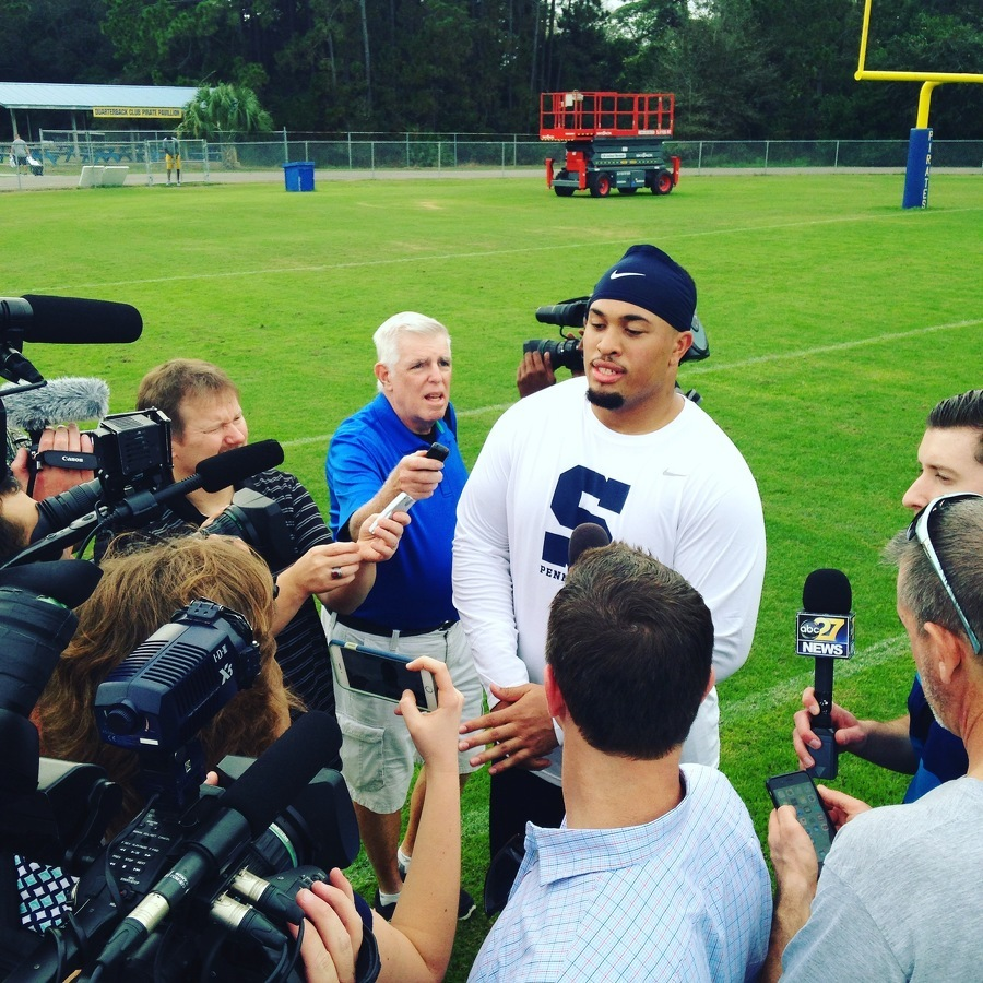 Penn State Football: Austin Johnson NFL Future Undecided