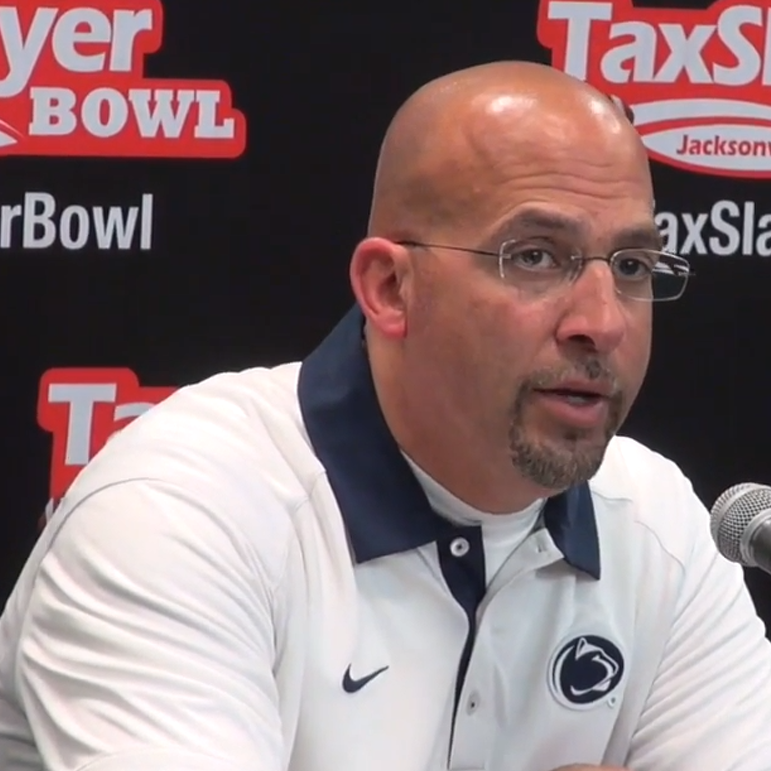 Franklin's Fingers Crossed That Penn State's Coaching Staff Remains Intact
