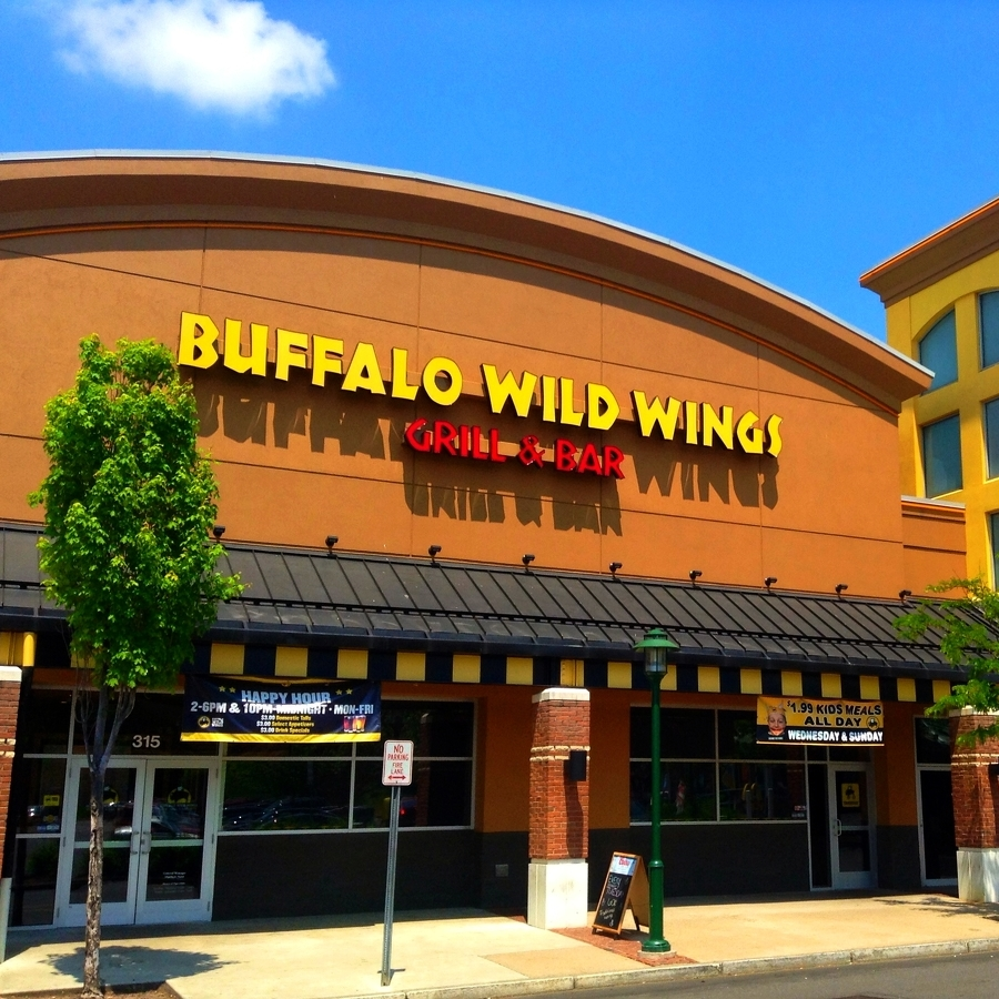 Buffalo Wild Wings Planning Restaurant on North Atherton