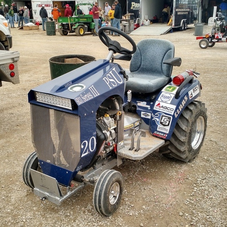 With Homemade Designs, Penn State Pullers Succeed in International Tractor Competitions