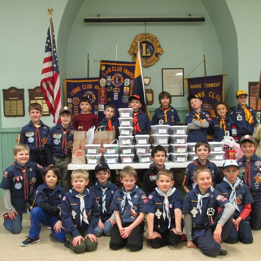 Boalsburg Cub Scouts use January meeting to make Jared Boxes