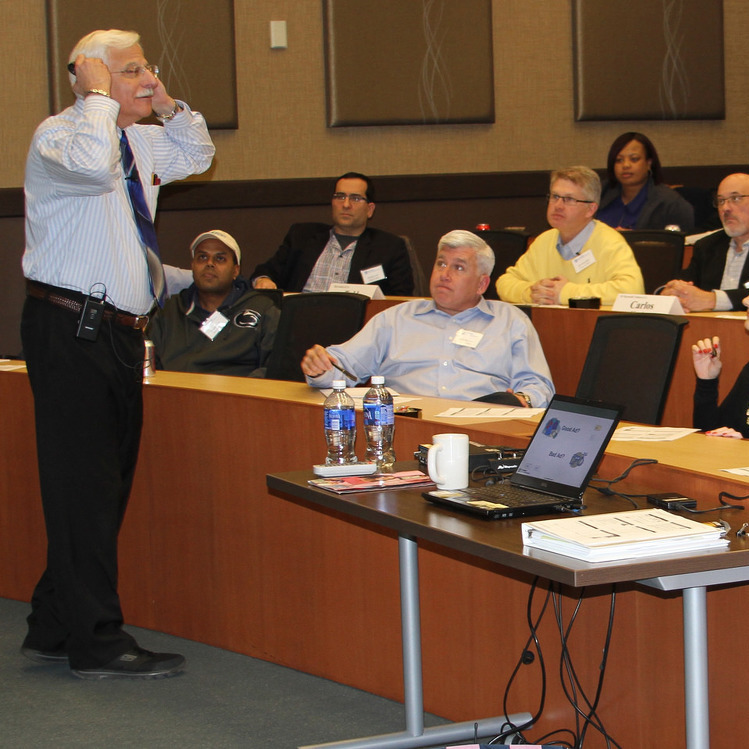 'The Next Lecture' attracts Penn State Smeal alumni