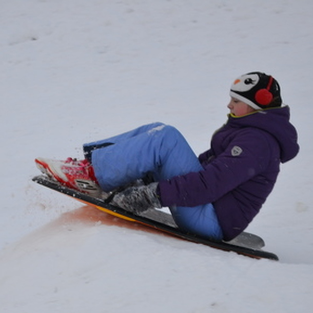 It's Time to Teach Children Sledding Safety Measures