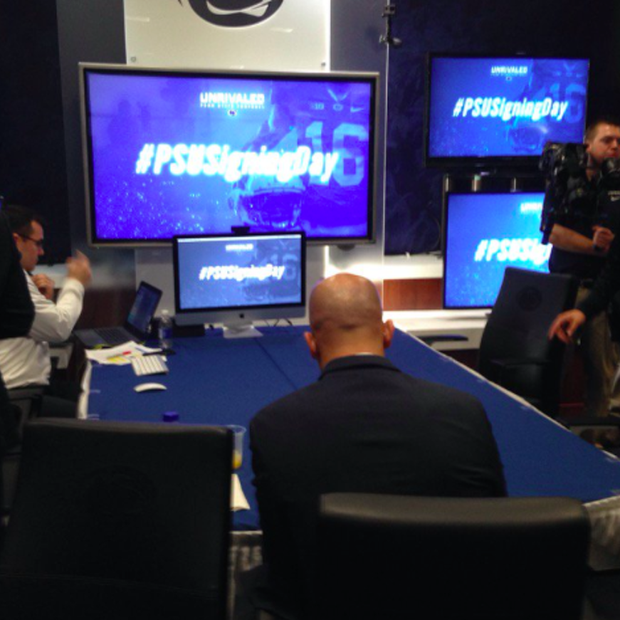 Penn State Football: Video Offers Inside Look At Signing Day