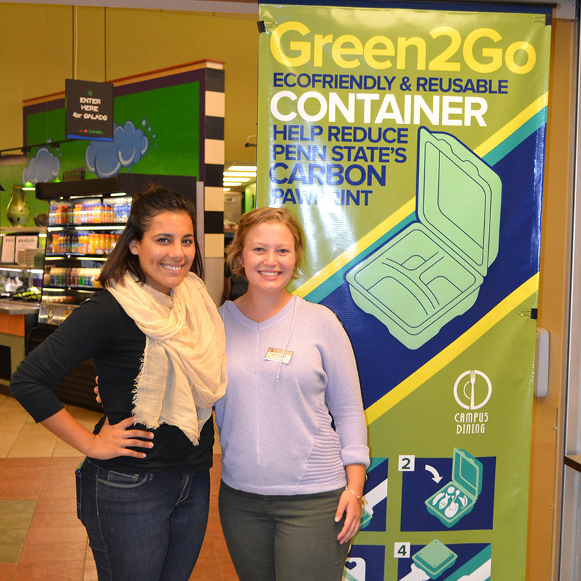 Student helps create sustainable takeout containers