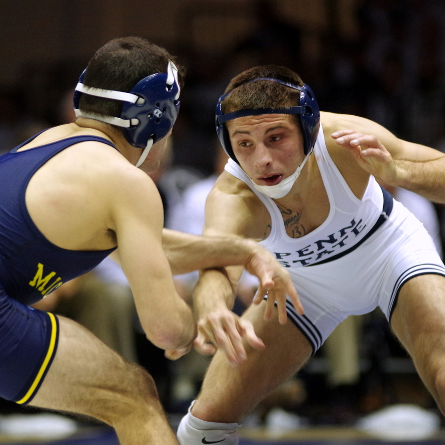 Double the fun: PSU grapplers pick up a pair of wins