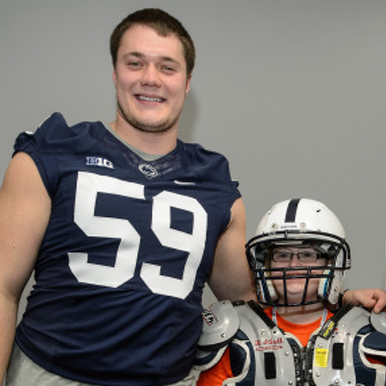 For Penn State Football Veterans, Hosting THON Kids 'Kind of Humbles Guys'