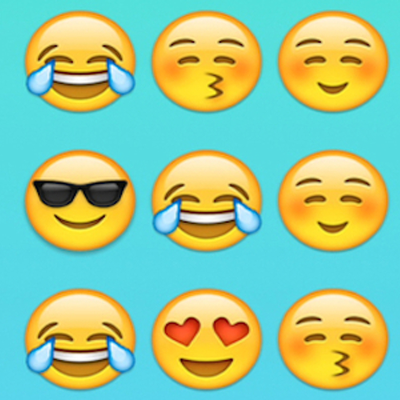Companies smiling as emojis join marketing plans