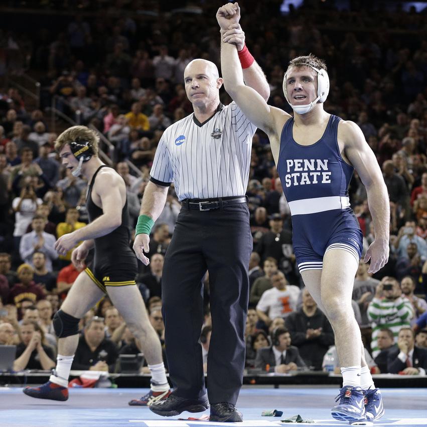 National Champions! Penn State wrestlers capture another title
