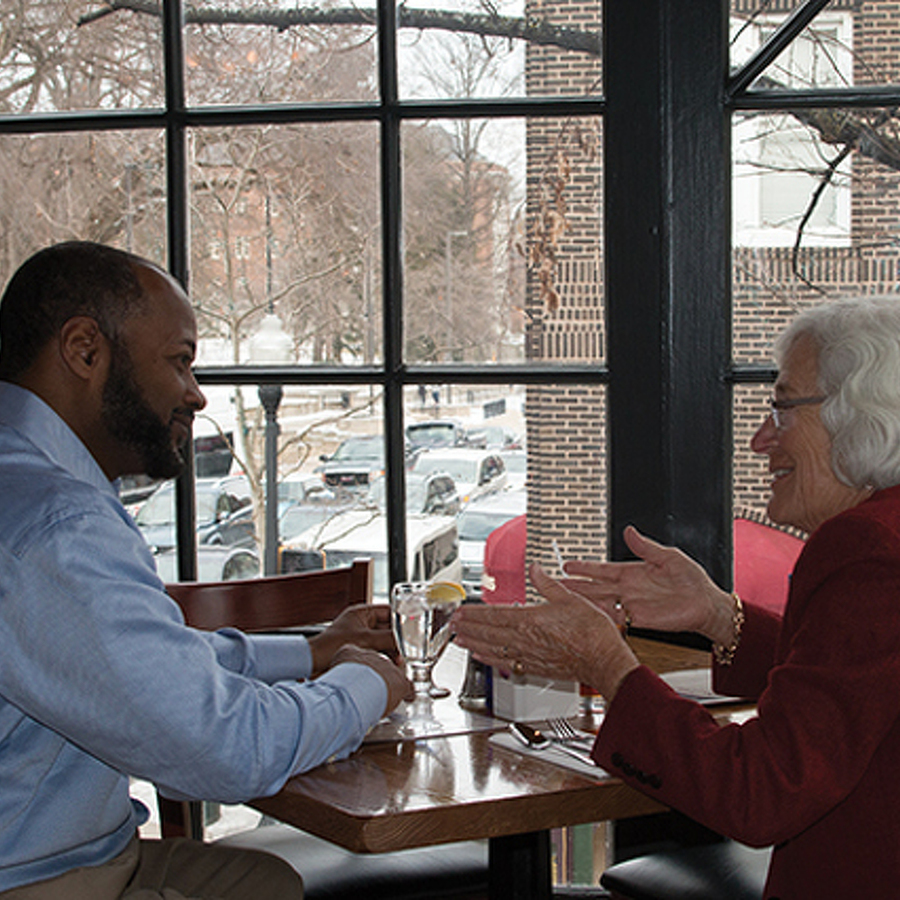 Lunch with Mimi: Terry Smith