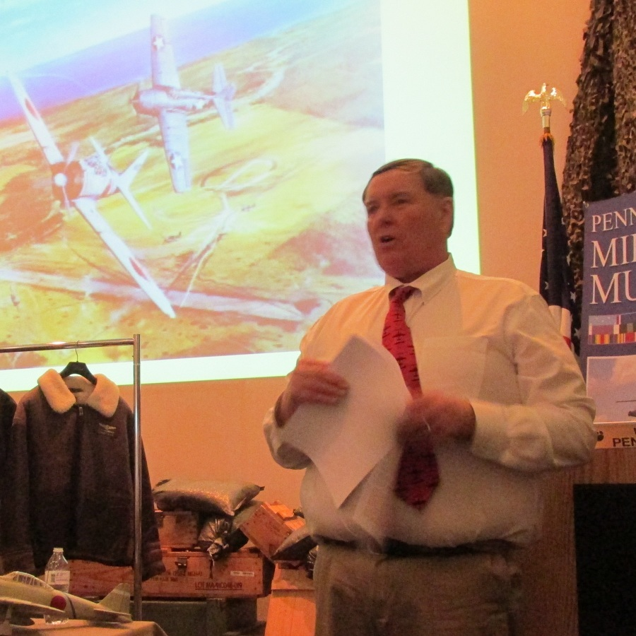 Military museum lecturer focuses on naval aviation