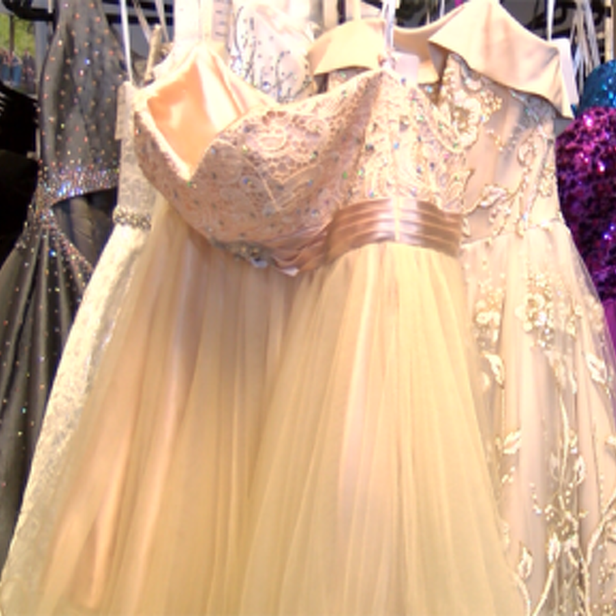 Say Yes to the Prom Dress