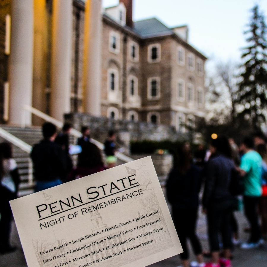 'Night of Remembrance' Commemorates Penn State Students Lost This Year