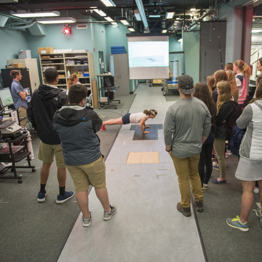 State High Students Learn About Biomechanics at Penn State Lab