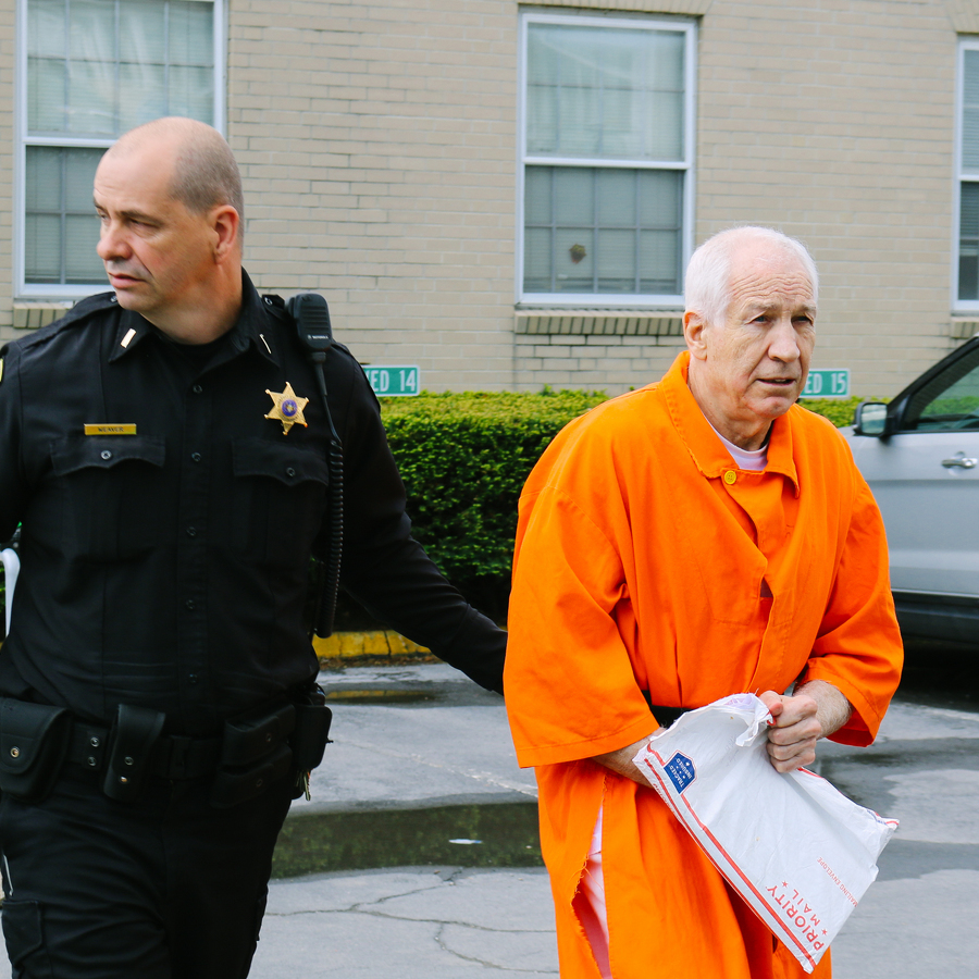 Sandusky Returns to Centre County Court Seeking New Trial