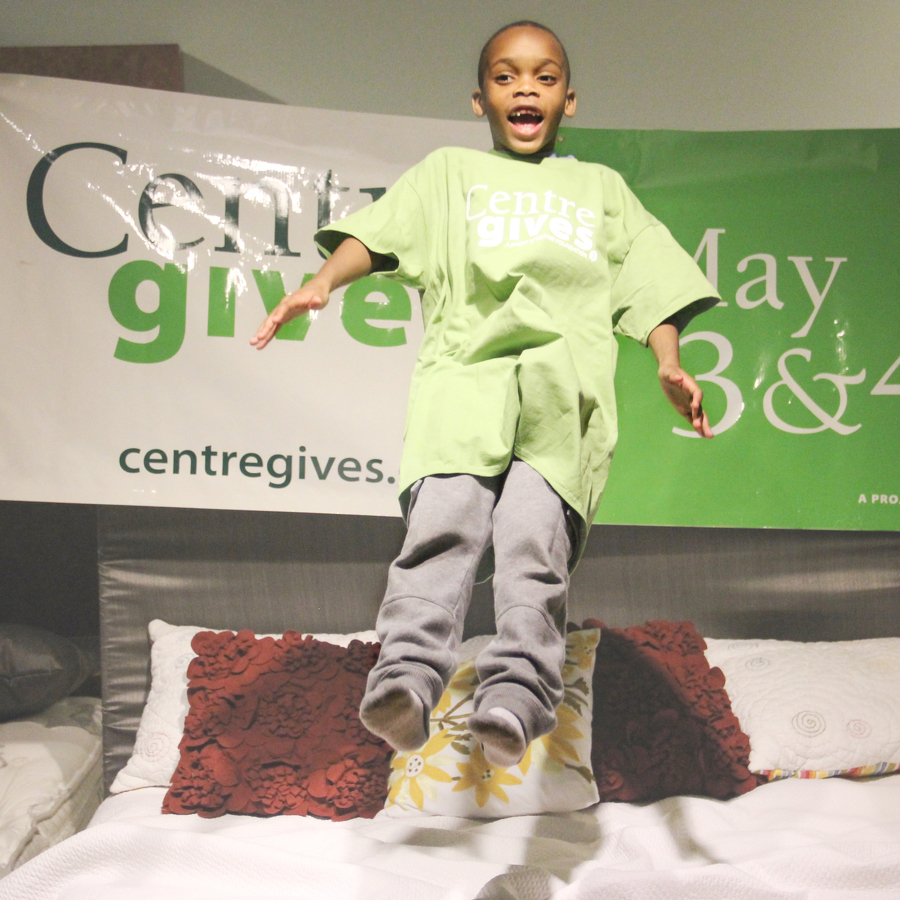 Housing Transitions, Wolf Furniture Invite Community to Jump on Beds for Centre Gives