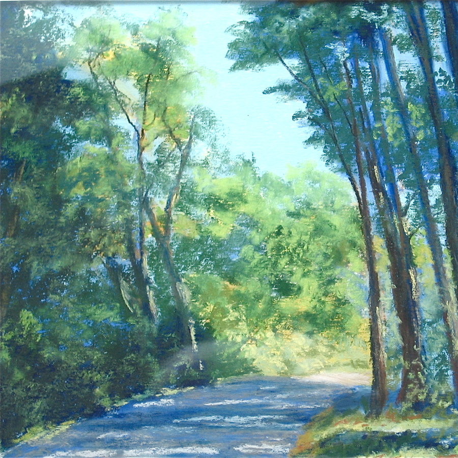 State College Framing Company featuring pastels show