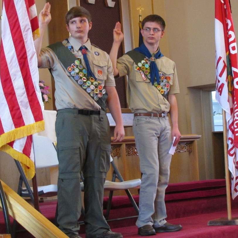 Centre Hall Boy Scouts receive Eagle Scout awards