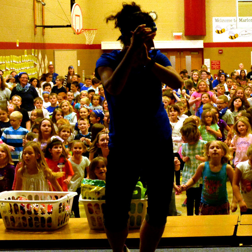 Marion-Walker Elementary Dances to fight cancer