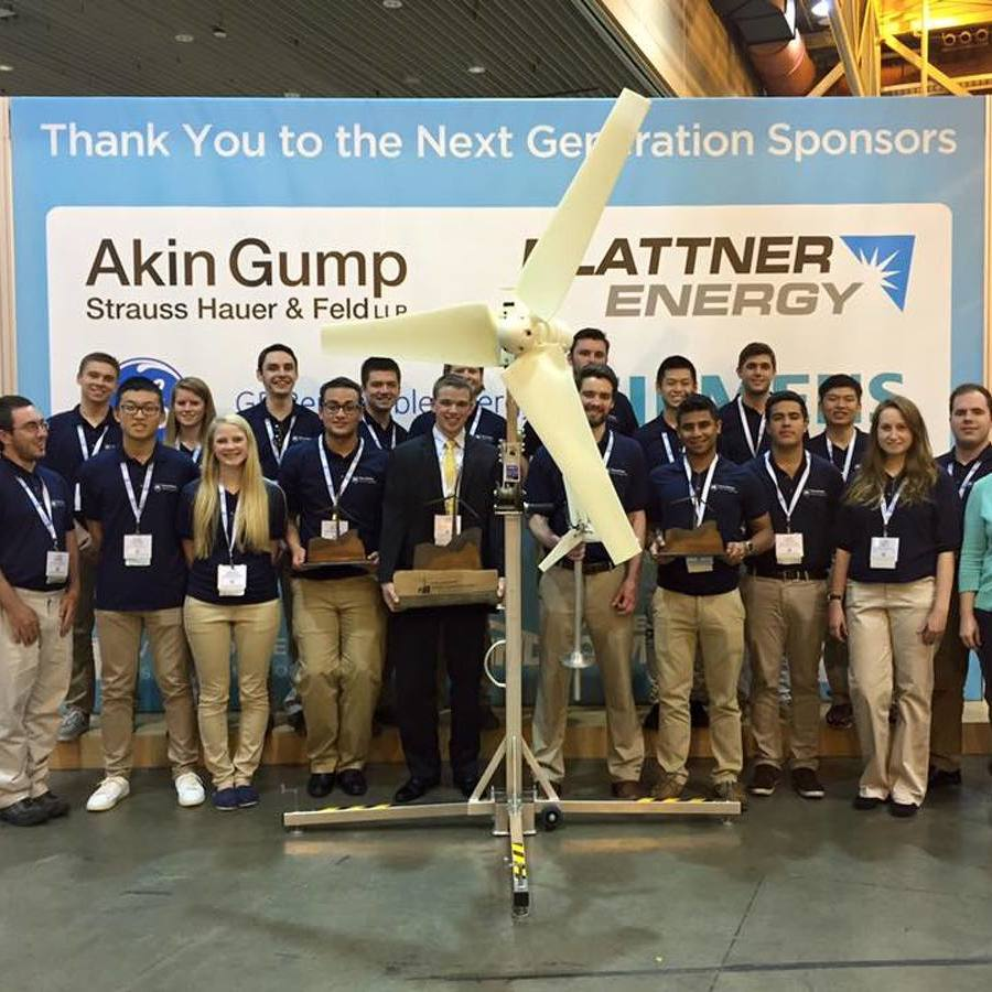 Penn State Team Takes First at National Collegiate Wind Competition