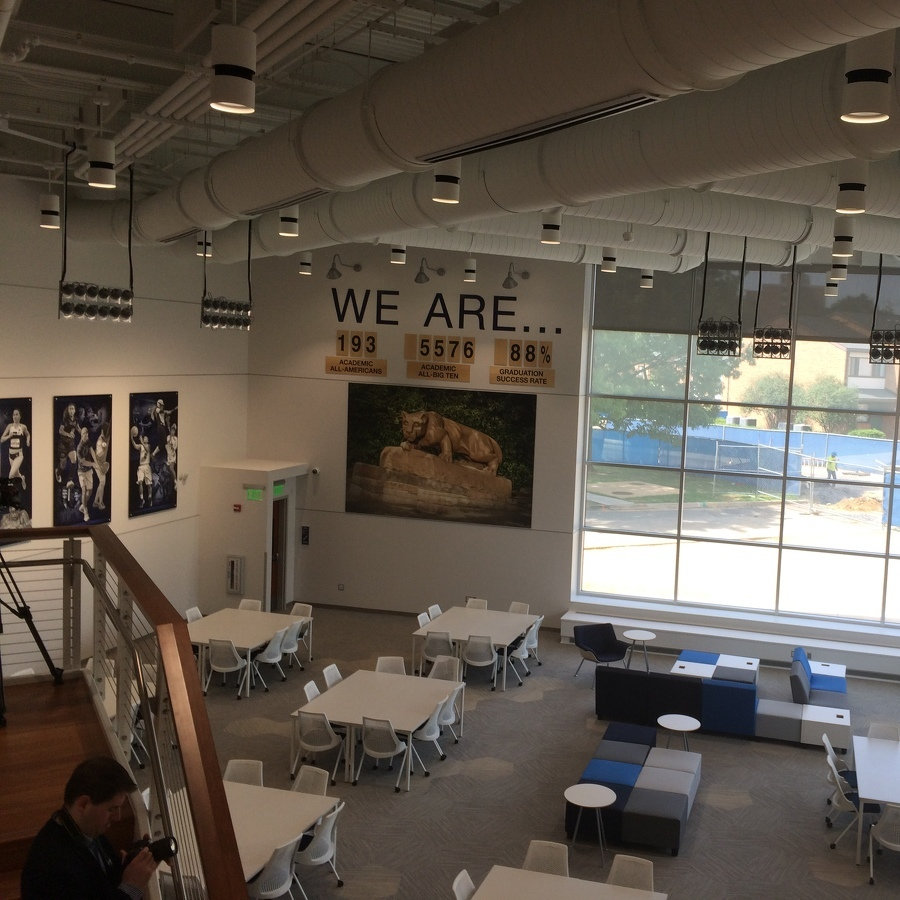 Penn State Unveils New Academic Center for Student-Athletes