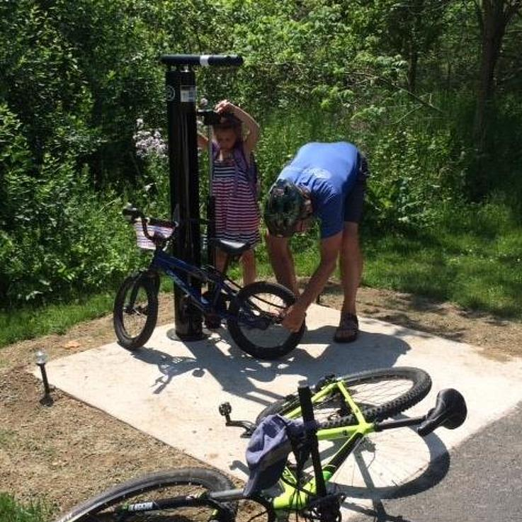 Borough Unveils New Bike Repair Stations