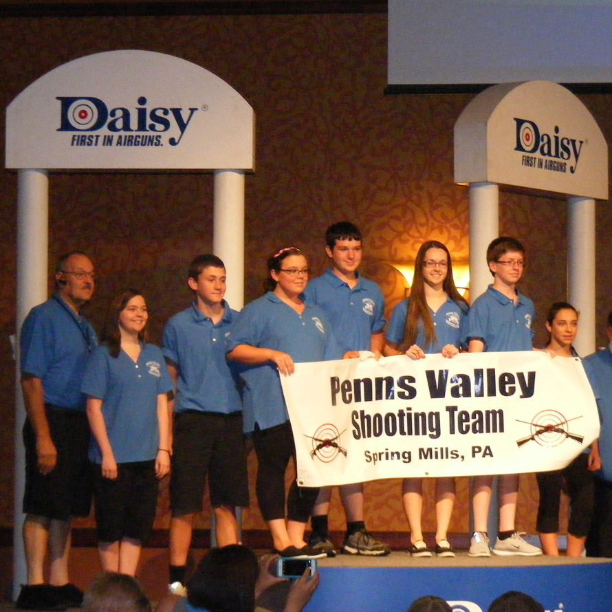 Shooting team places at Nationals
