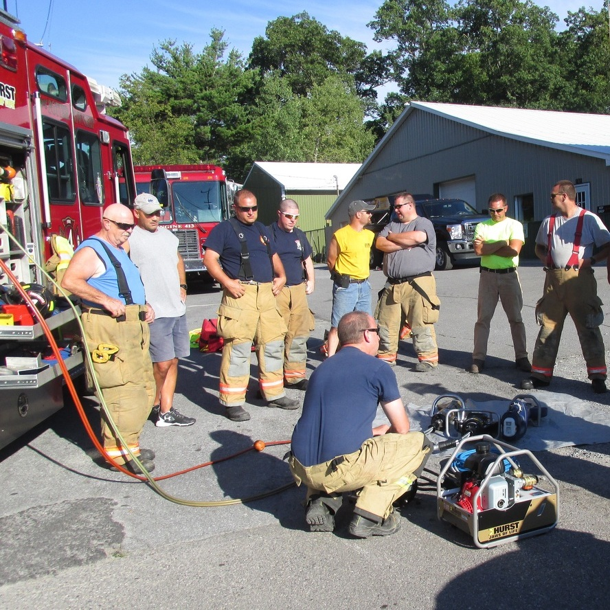 Centre Hall Fire Company tests new equipment