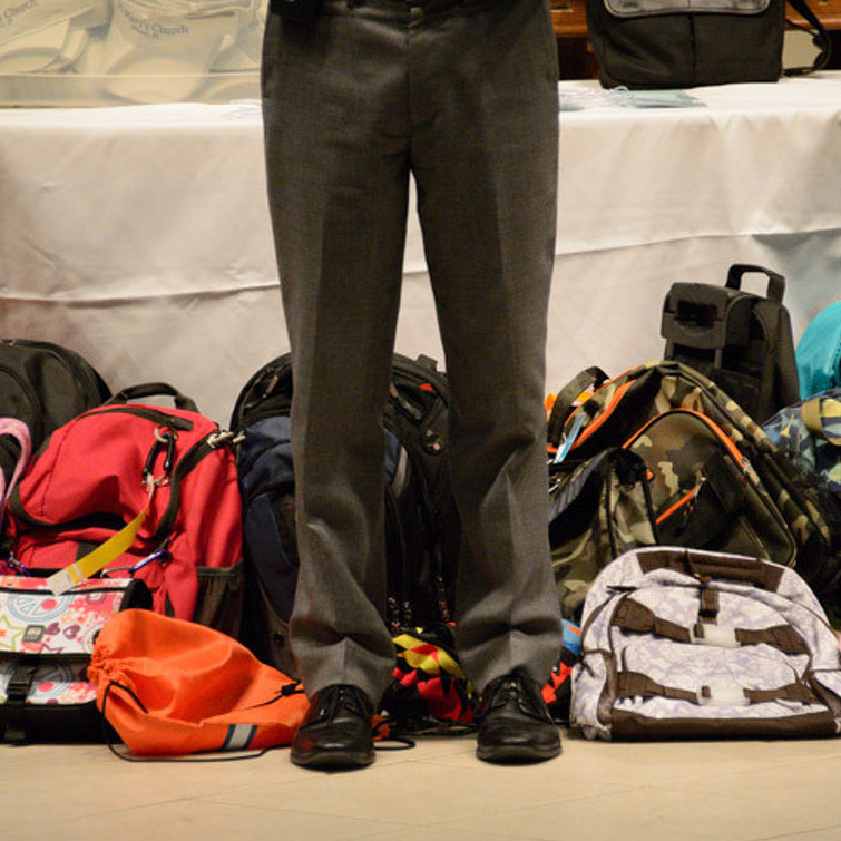 Blessing of the Backpacks scheduled