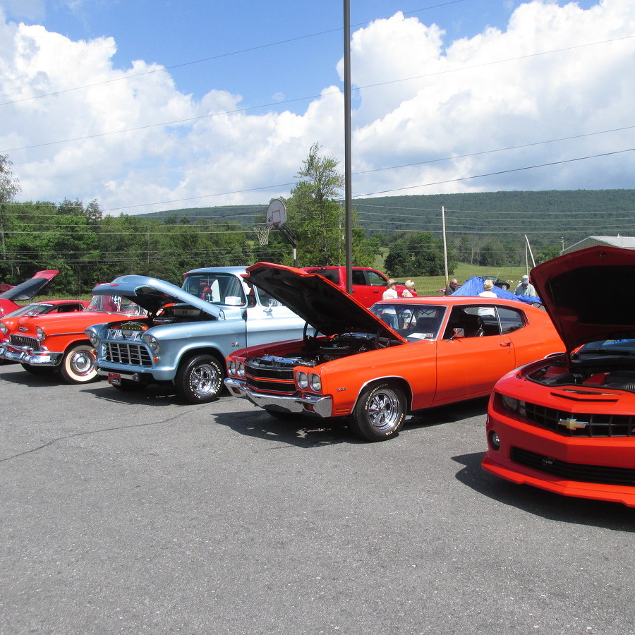 Penns Valley welcomes 60 vehicles to car show