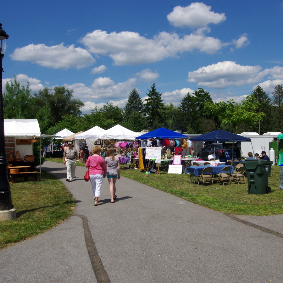 Arts and crafts fair will energize Talleyrand Park