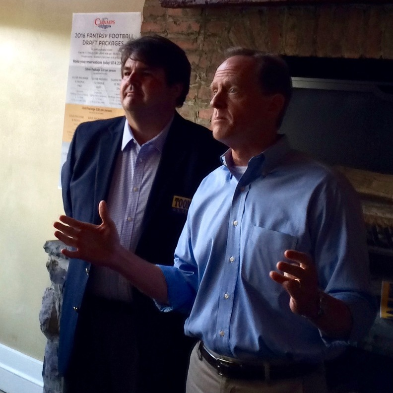 Toomey Focuses on National Security During State College Stop