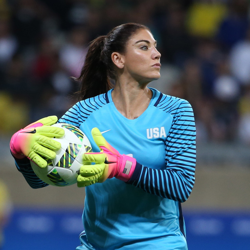 In defense of Hope Solo
