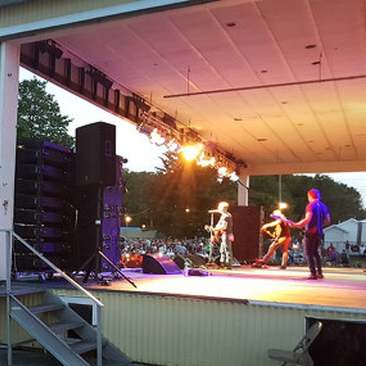Home Sweet Home: Yarger Performs at Grange Fair