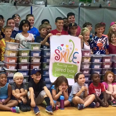 YMCA Summer Camp Students Lift Spirits of Sick Children with Jared Box Project